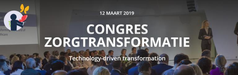 12 maart 2019: Congres Zorgtransformatie
