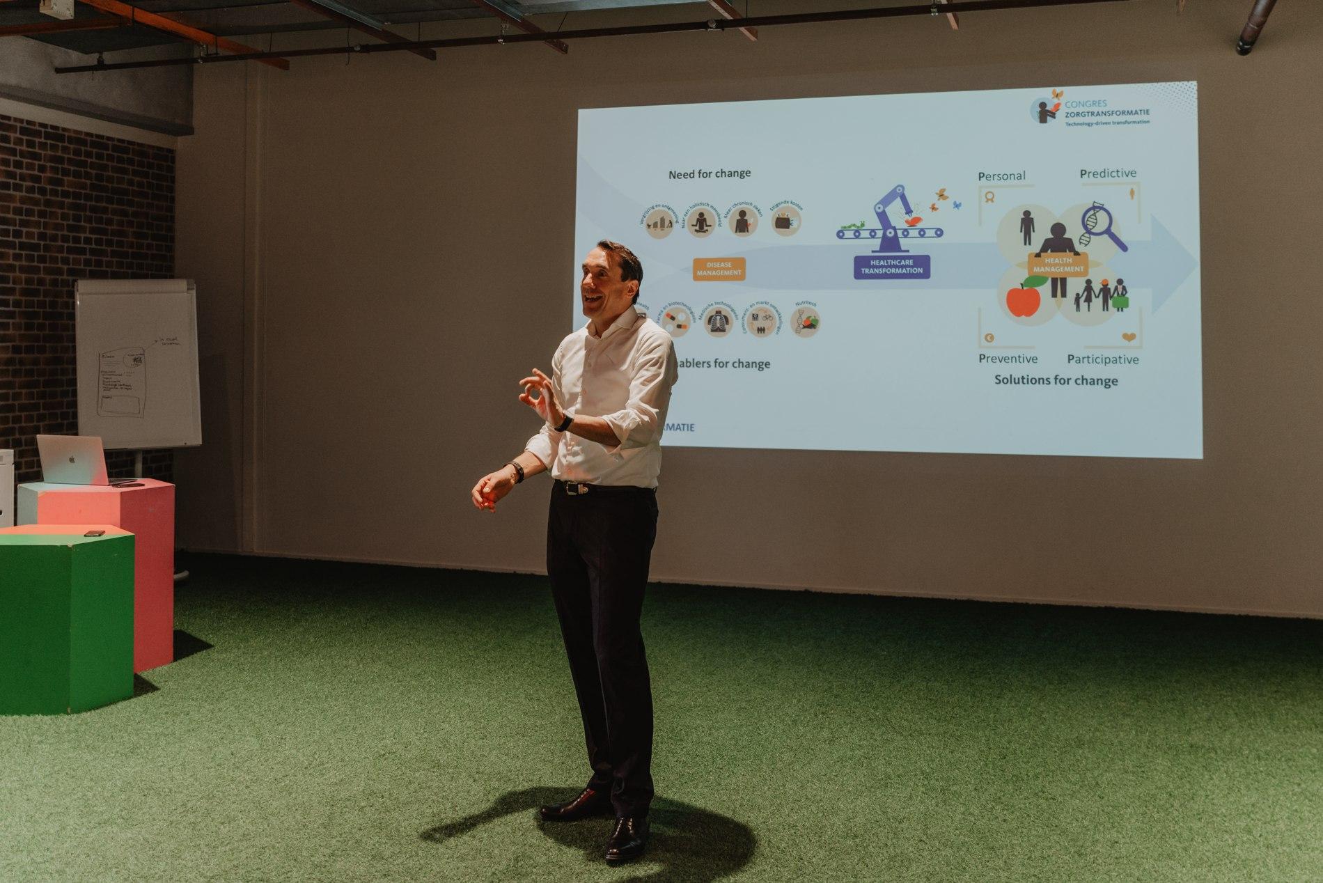GEZONDHEIDSZORG- BeBright-presentatie