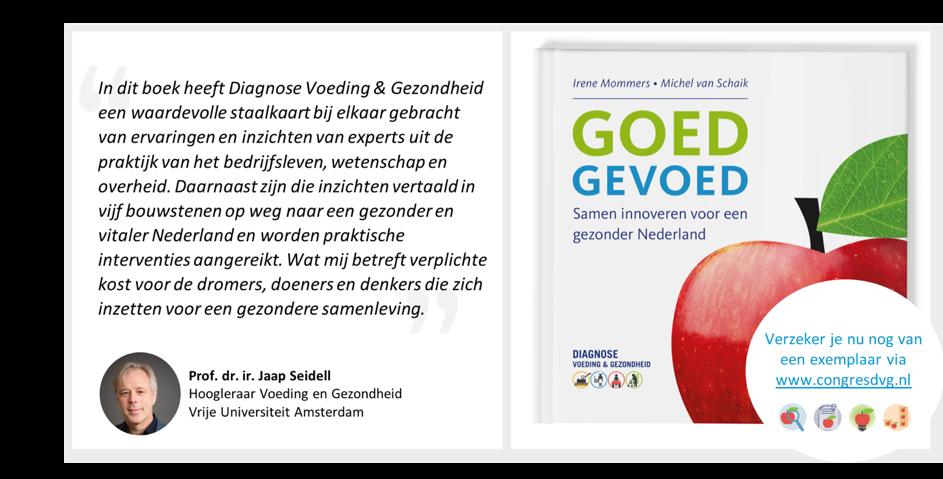 GOED GEVOED – Lancering nieuwe publicatie tijdens congres Diagnose Voeding & Gezondheid